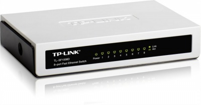 "Switch, 8 port, 10/100 Mbps, TP-LINK ""TL-SF1008D"""